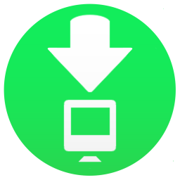 Toolbar Downloads icon