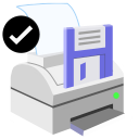 ModernXP 47 Printer Save Ok icon