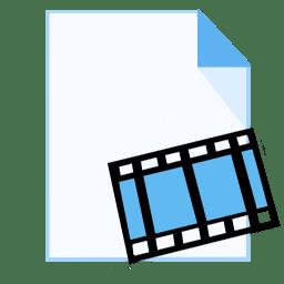 ModernXP 18 Filetype Movie icon
