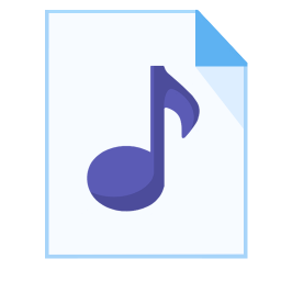 ModernXP 24 Filetype mp 3 icon