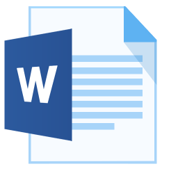 ModernXP 31 Filetype Word icon