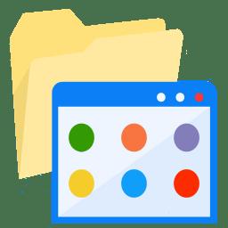 ModernXP 34 Folder Applications icon