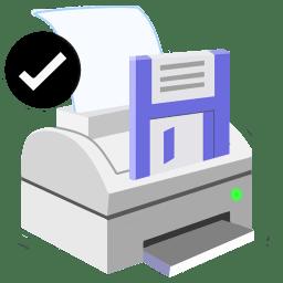 ModernXP 47 Printer Save Ok icon