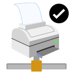 ModernXP 55 Network Printer Ok icon