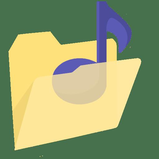 ModernXP 38 Folder Music icon
