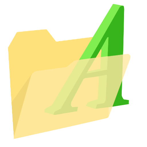 ModernXP-39-Folder-Fonts icon