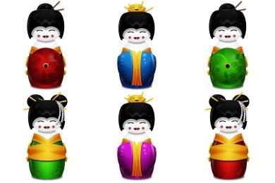 Geisha Icons