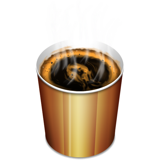 Coffee hot icon