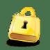 Padlock-lock icon