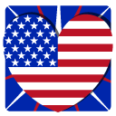 Independence Day 1 Heart icon