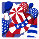 Independence Day 5 Hat Balloons icon