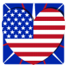 Independence-Day-1-Heart icon