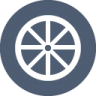 Bikewheel icon