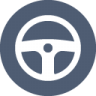 Steering-wheel icon