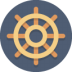 Ship-wheel icon