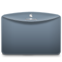 Folder-Color-Grey-Blue icon