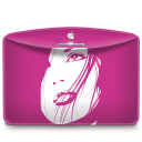Folder Girl Pink icon