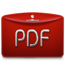 Folder Text PDF icon