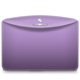 Folder Color Lilac Purple icon