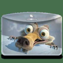 Folder Ice Age icon