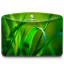 Folder Nature Leave icon