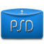 Folder Text Adobe PSD icon