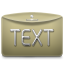 Folder Text icon