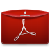 Folder-Text-PDF-Logo icon