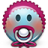 Emoticon Baby Newbie Pacifier icon