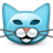 Emoticon-Cat-Kitty-Pussycat icon
