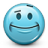Emoticon-Flirty-Smile icon