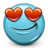 Emoticon-Hearts-Love-Loving icon