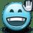 Emoticon-Hello-Waving-Greeting icon