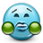 Emoticon Sick Puke Disgust icon