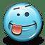 Emoticon Crazy icon