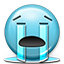 Emoticon-Crying-Tears-River icon