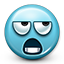 Emoticon Disappointed Eye Roll Meme icon