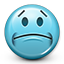 Emoticon Disappointment Disappointed icon