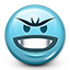 Emoticon Evil Laugh icon
