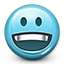 Emoticon Happy Smile icon