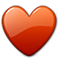 Emoticon Heart Love Valentine icon