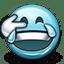 Emoticon Lol Tears Joy Crying icon