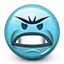 Emoticon Mad Angry Grr icon