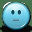 Emoticon Pokerface icon