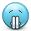 Emoticon Praying Pray icon