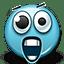 Emoticon Shocked Screaming Scream icon