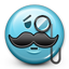 Emoticon Sir Elegant Moustache icon