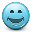 Emoticon Smiling icon