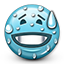 Emoticon Sweating icon