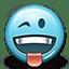 Emoticon Tongue Wink icon